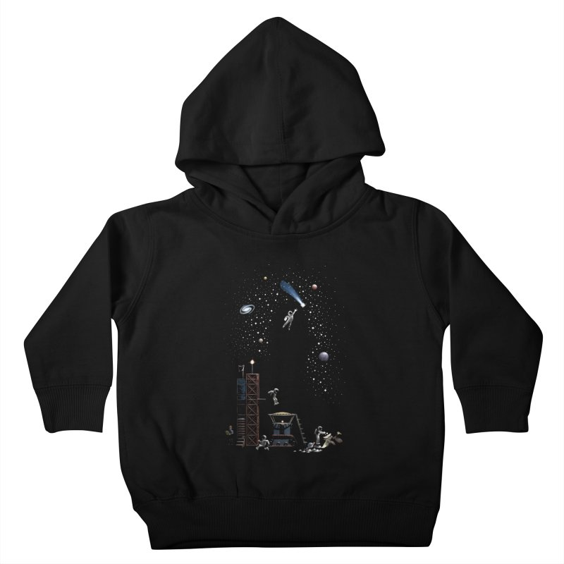 Astronot Kids Toddler Pullover Hoody by Made With Awesome