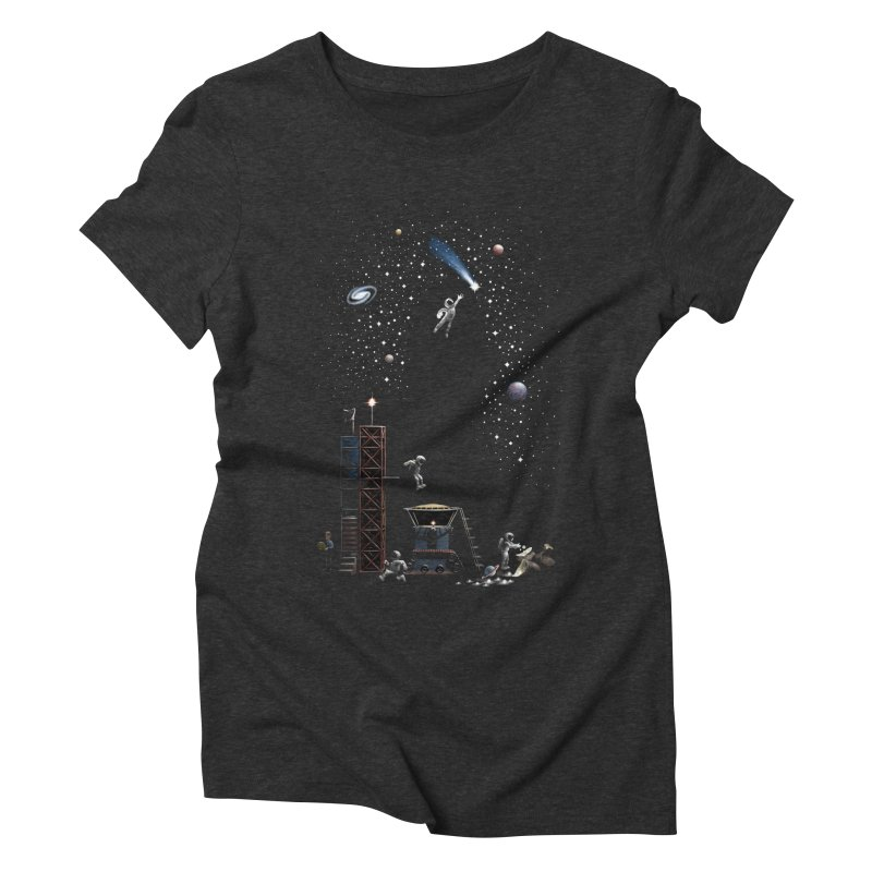 Astronot Women's Triblend T-Shirt by Made With Awesome