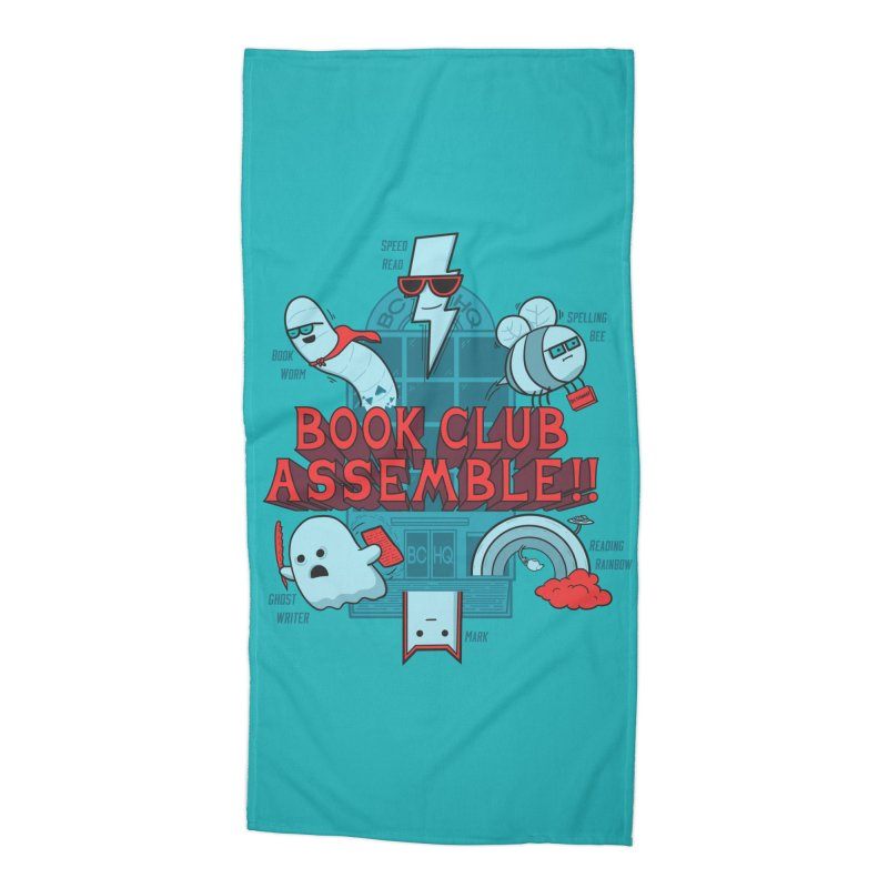 Literature Power! Accessories Beach Towel by Made With Awesome