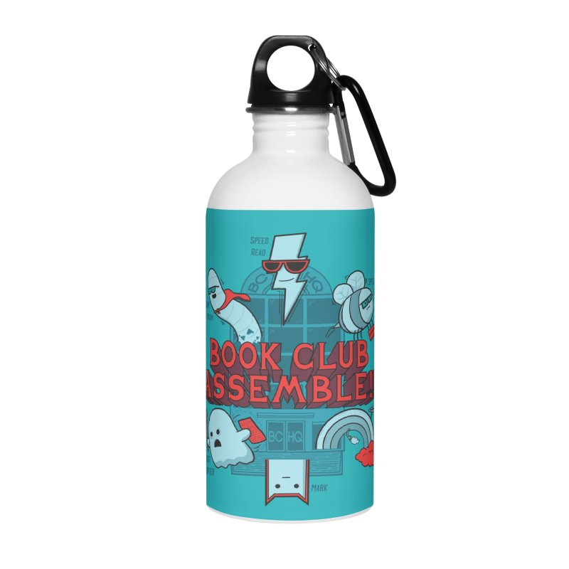 Literature Power! Accessories Water Bottle by Made With Awesome