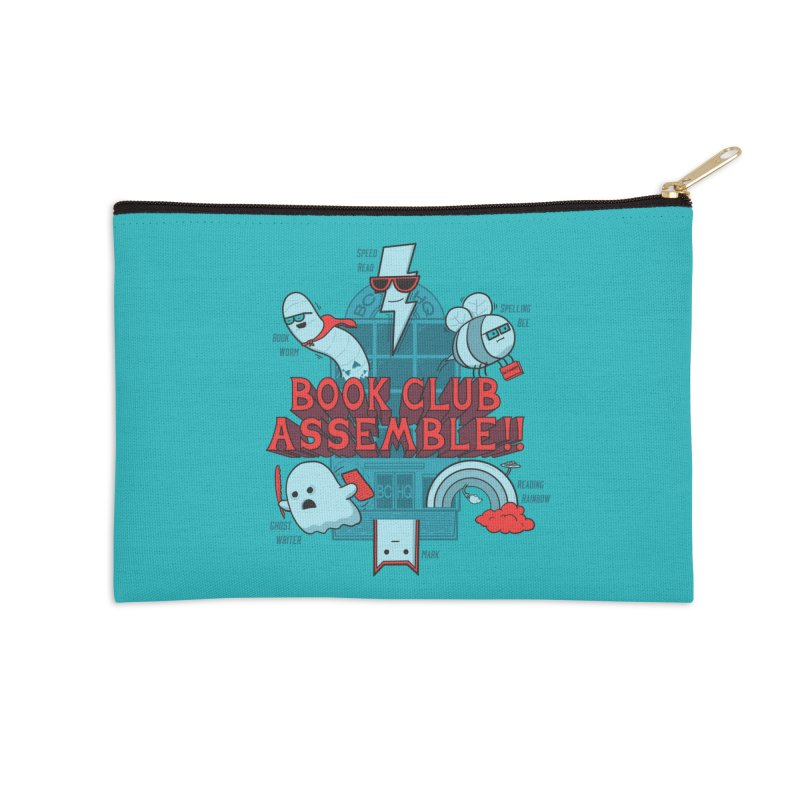 Literature Power! Accessories Zip Pouch by Made With Awesome
