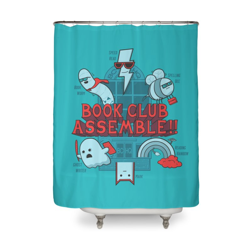 Literature Power! Home Shower Curtain by Made With Awesome
