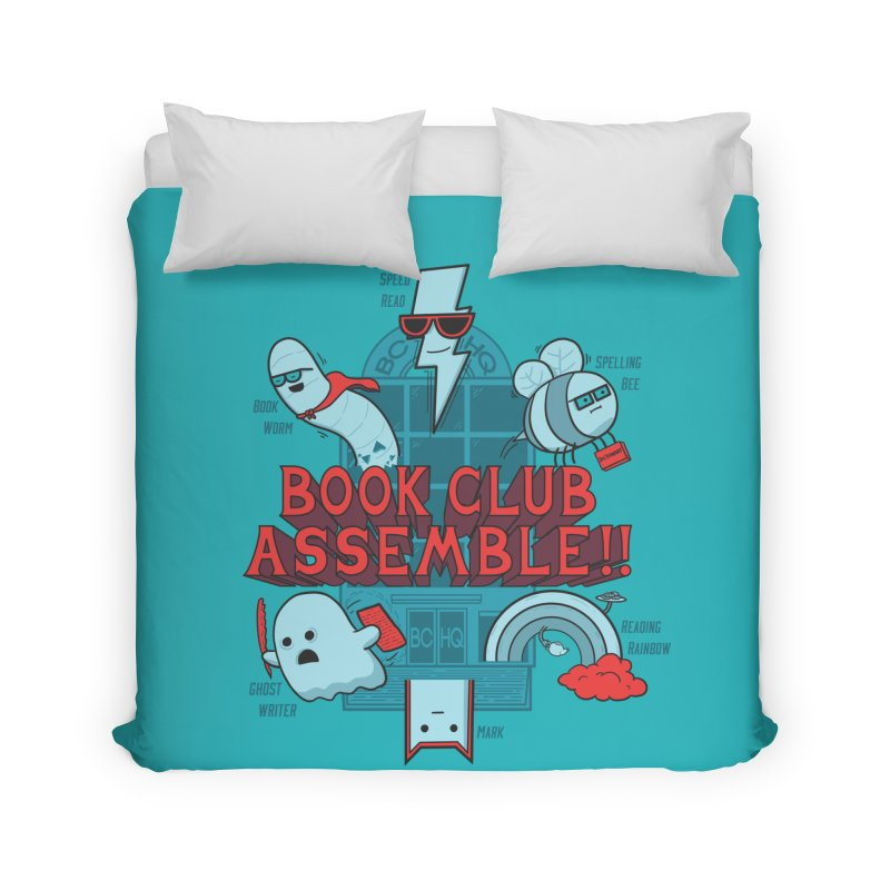 Literature Power! Home Duvet by Made With Awesome