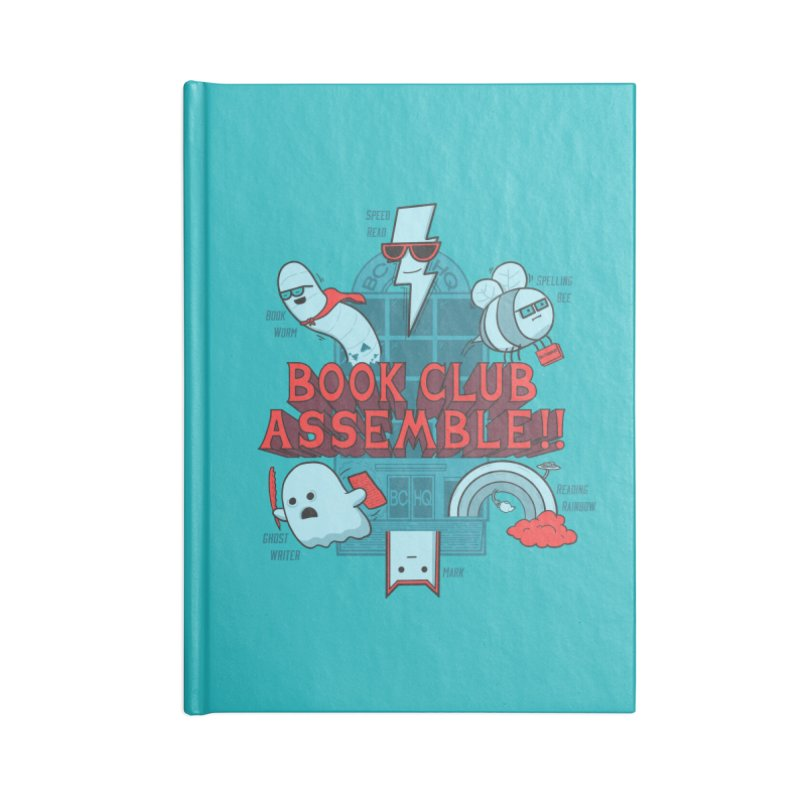 Literature Power! Accessories Notebook by Made With Awesome