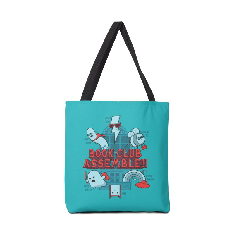 Literature Power! Accessories Bag by Made With Awesome