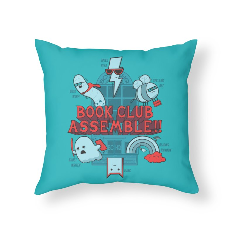 Literature Power! Home Throw Pillow by Made With Awesome