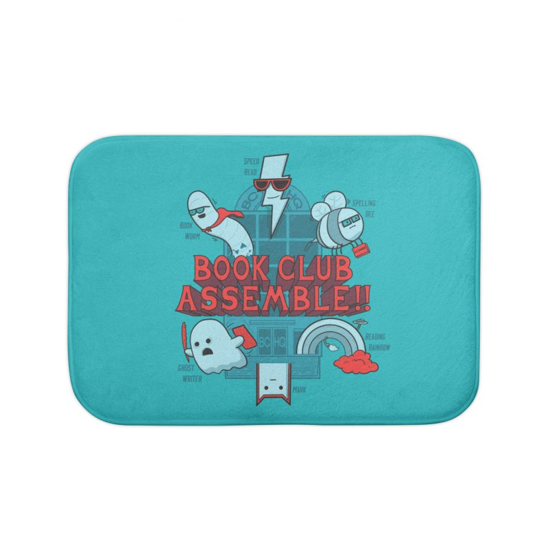 Literature Power! Home Bath Mat by Made With Awesome