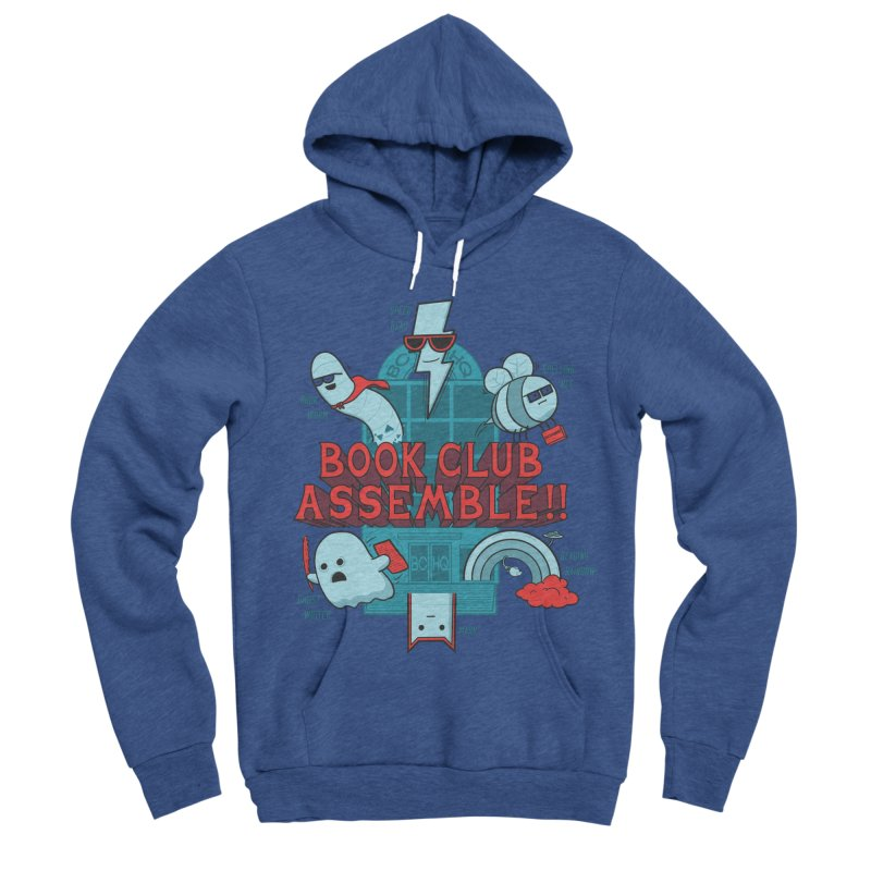 Literature Power! Women's Sponge Fleece Pullover Hoody by Made With Awesome