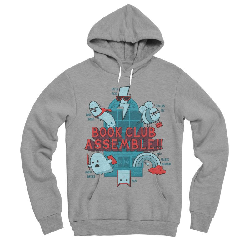 Literature Power! Men's Sponge Fleece Pullover Hoody by Made With Awesome