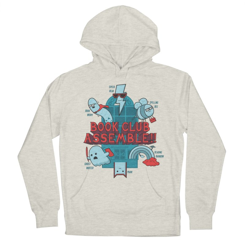 Literature Power! Men's French Terry Pullover Hoody by Made With Awesome