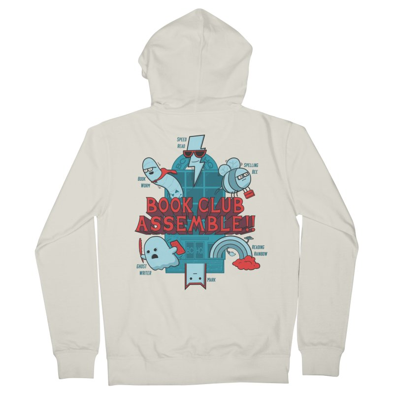 Literature Power! Women's French Terry Zip-Up Hoody by Made With Awesome