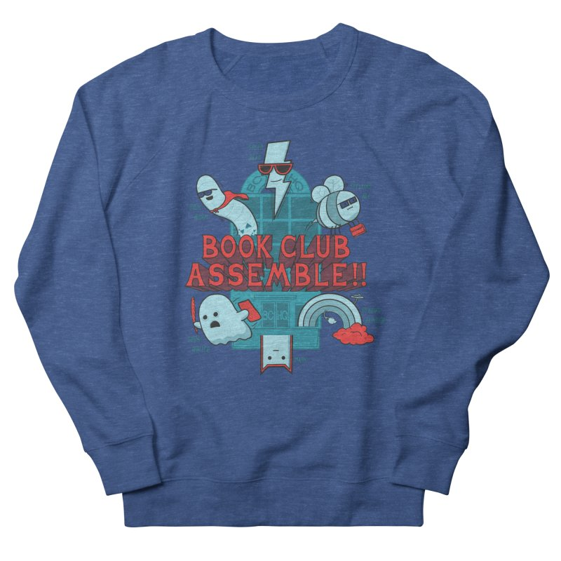 Literature Power! Men's French Terry Sweatshirt by Made With Awesome