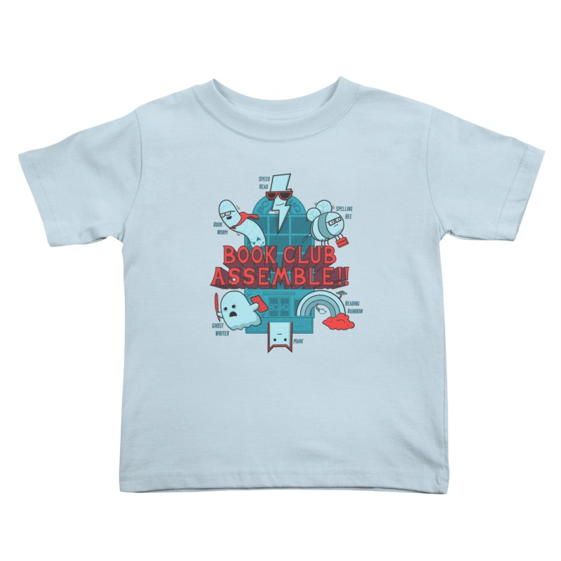 Literature Power! Kids Toddler T-Shirt by Made With Awesome