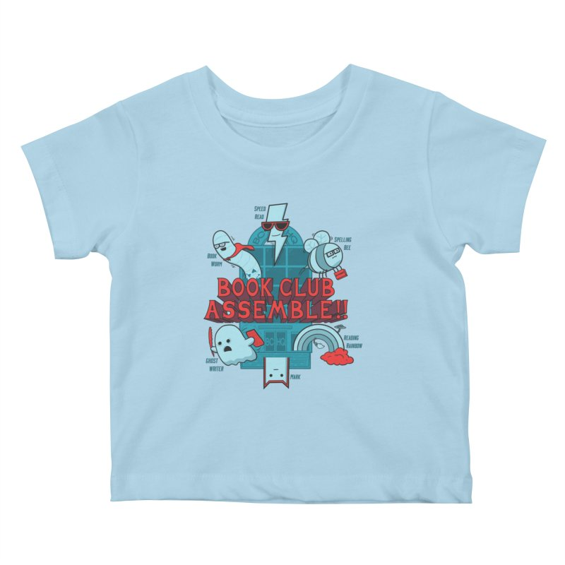 Literature Power! Kids Baby T-Shirt by Made With Awesome