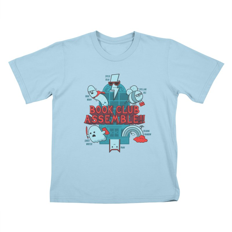 Literature Power! Kids T-Shirt by Made With Awesome