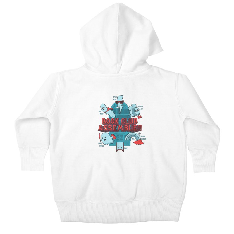 Literature Power! Kids Baby Zip-Up Hoody by Made With Awesome