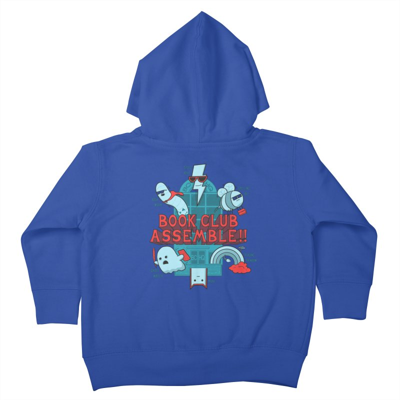 Literature Power! Kids Toddler Zip-Up Hoody by Made With Awesome