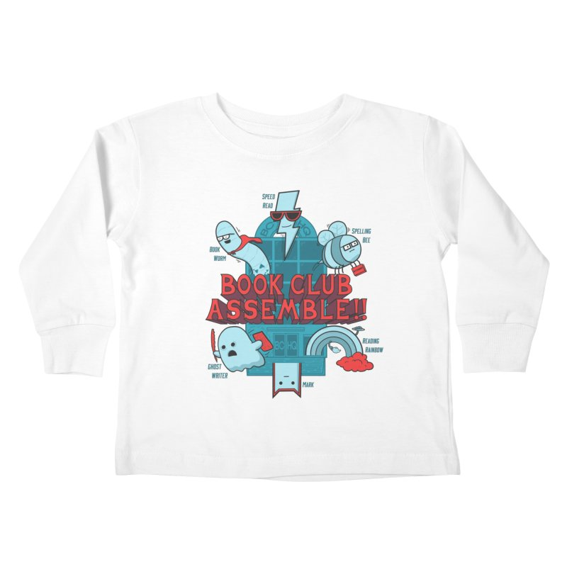 Literature Power! Kids Toddler Longsleeve T-Shirt by Made With Awesome