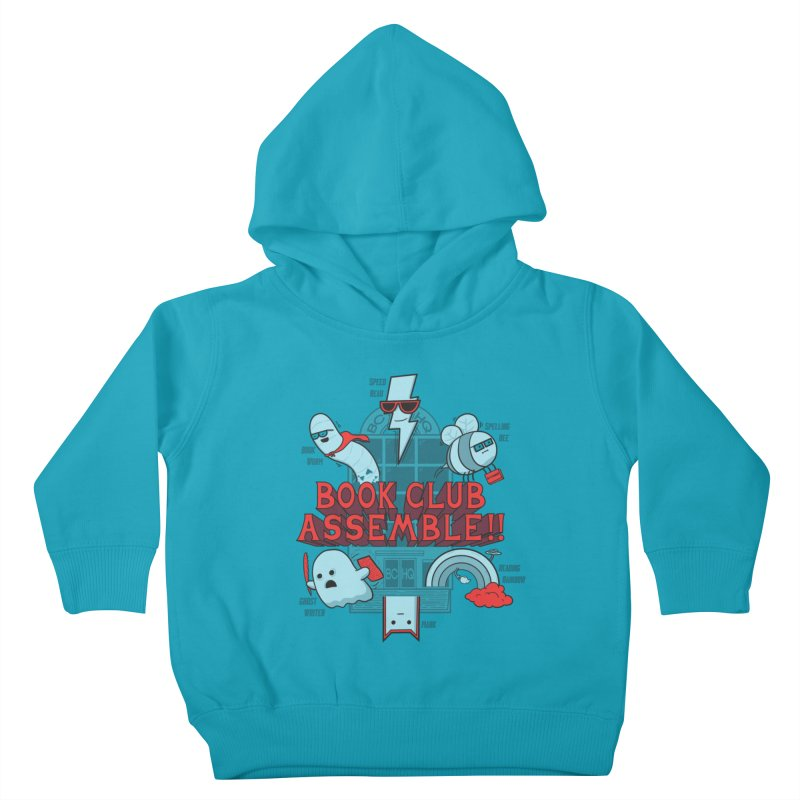 Literature Power! Kids Toddler Pullover Hoody by Made With Awesome