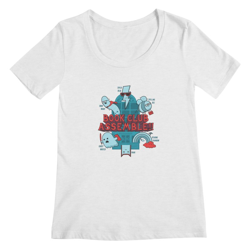 Literature Power! Women's Regular Scoop Neck by Made With Awesome