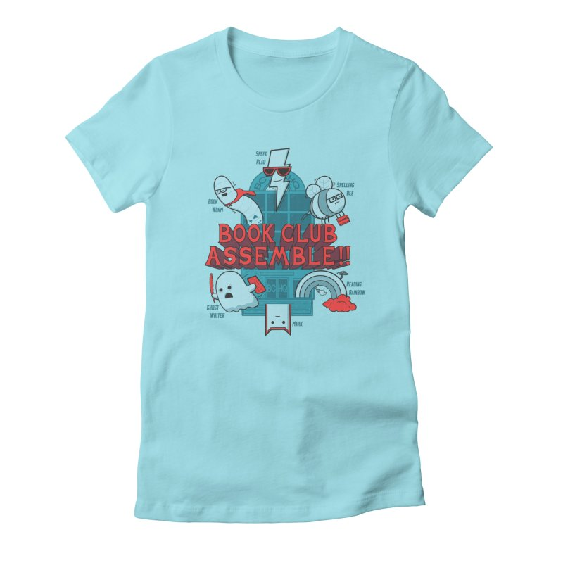 Literature Power! Women's Fitted T-Shirt by Made With Awesome