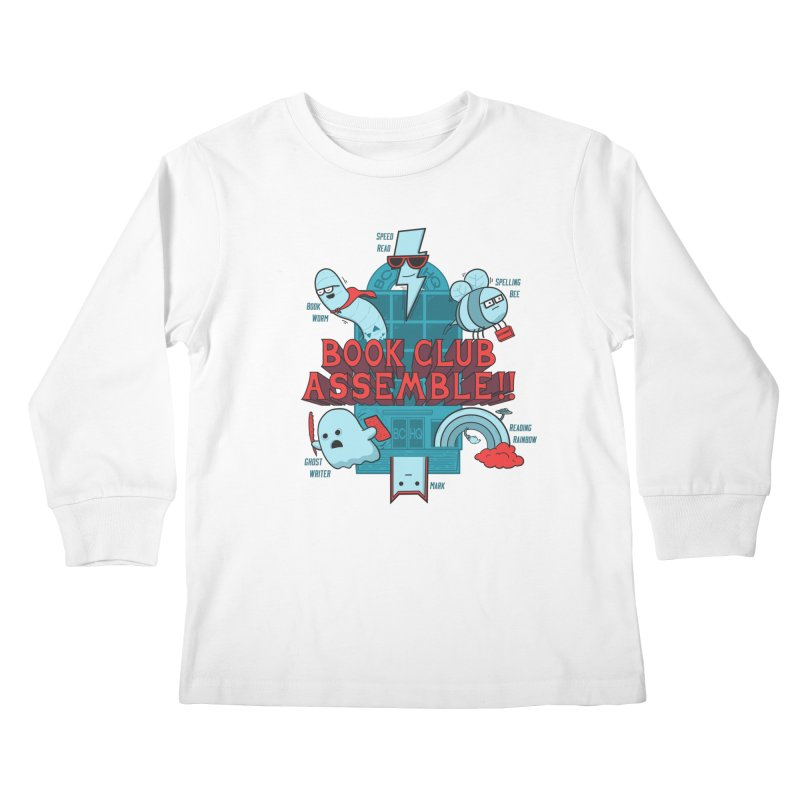 Literature Power! Kids Longsleeve T-Shirt by Made With Awesome