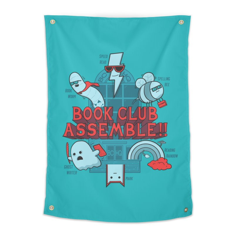 Literature Power! Home Tapestry by Made With Awesome