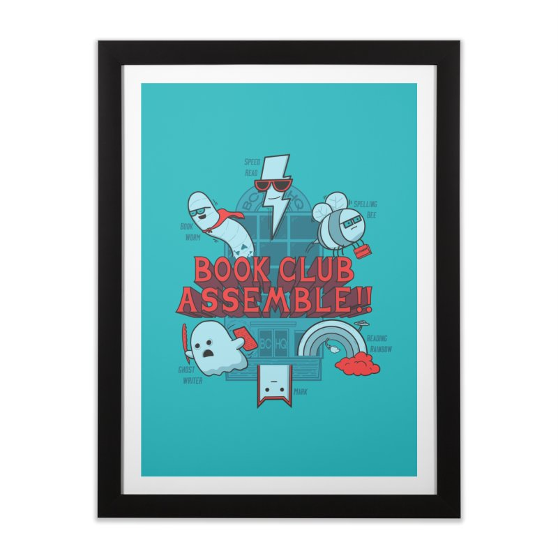 Literature Power! Home Framed Fine Art Print by Made With Awesome