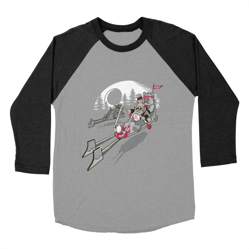 Easy Speedin Women's Baseball Triblend Longsleeve T-Shirt by Made With Awesome