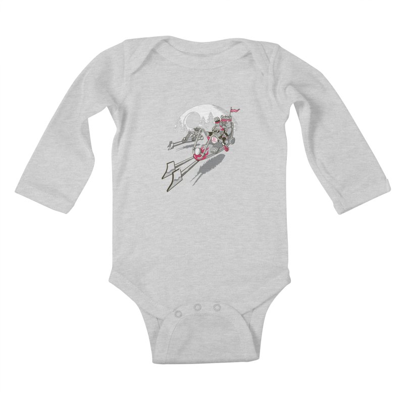 Easy Speedin Kids Baby Longsleeve Bodysuit by Made With Awesome