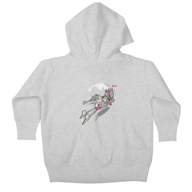 Easy Speedin Kids Baby Zip-Up Hoody by Made With Awesome