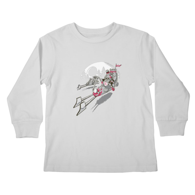 Easy Speedin Kids Longsleeve T-Shirt by Made With Awesome