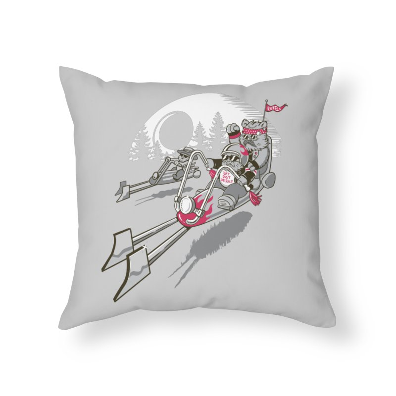 Easy Speedin Home Throw Pillow by Made With Awesome