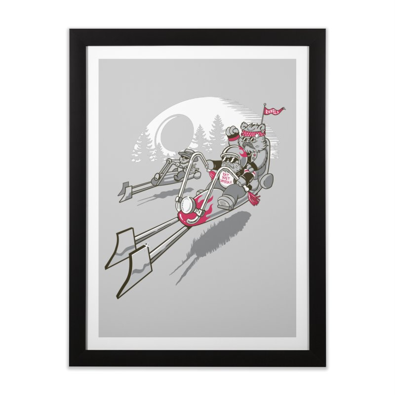 Easy Speedin Home Framed Fine Art Print by Made With Awesome