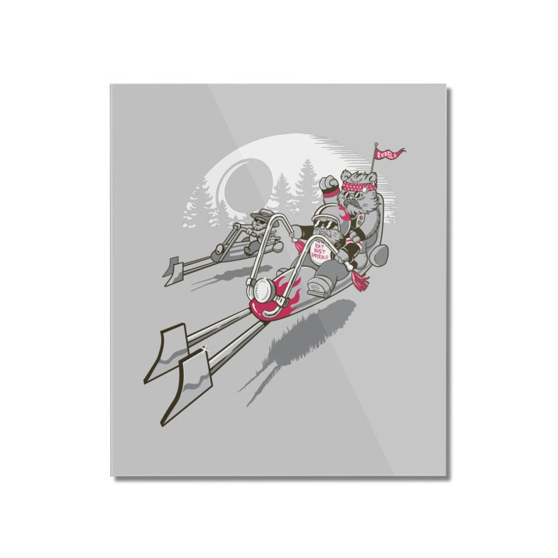 Easy Speedin Home Mounted Acrylic Print by Made With Awesome