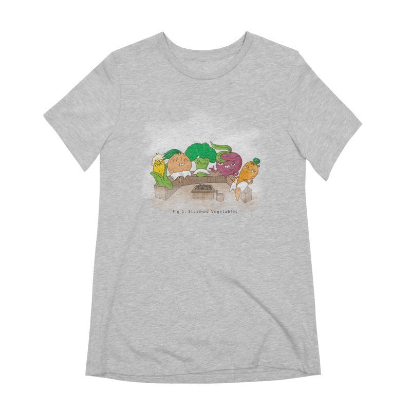 Steamy Women's T-Shirt by Made With Awesome