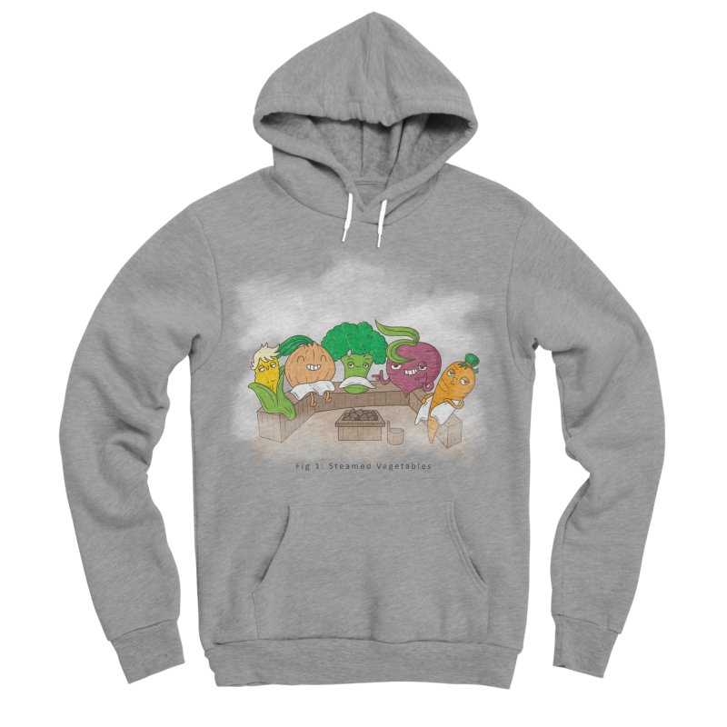 Steamy Men's Sponge Fleece Pullover Hoody by Made With Awesome