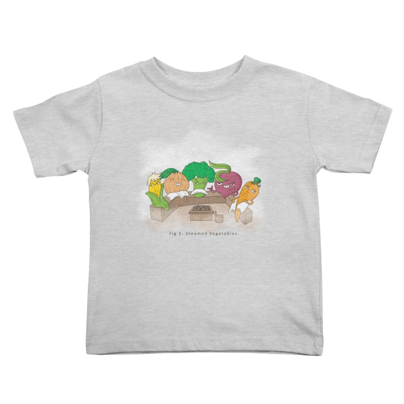 Steamy Kids Toddler T-Shirt by Made With Awesome