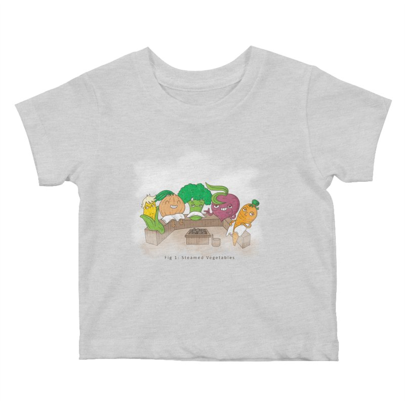 Steamy Kids Baby T-Shirt by Made With Awesome