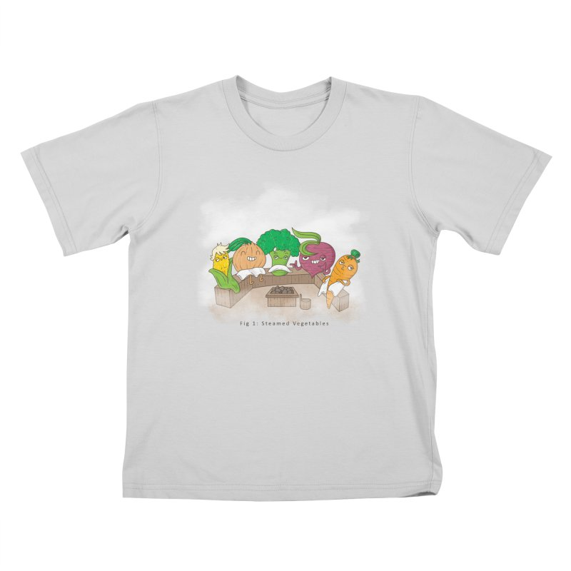 Steamy Kids T-Shirt by Made With Awesome