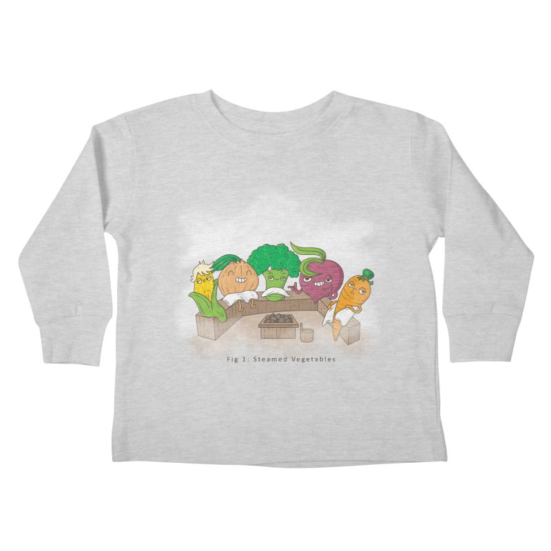 Steamy Kids Toddler Longsleeve T-Shirt by Made With Awesome