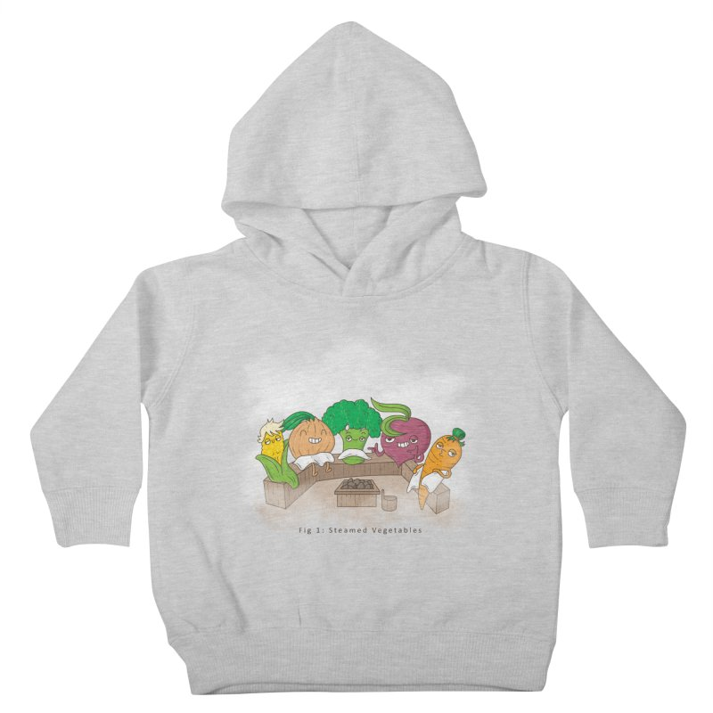 Steamy Kids Toddler Pullover Hoody by Made With Awesome