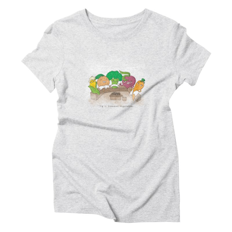 Steamy Women's Triblend T-Shirt by Made With Awesome
