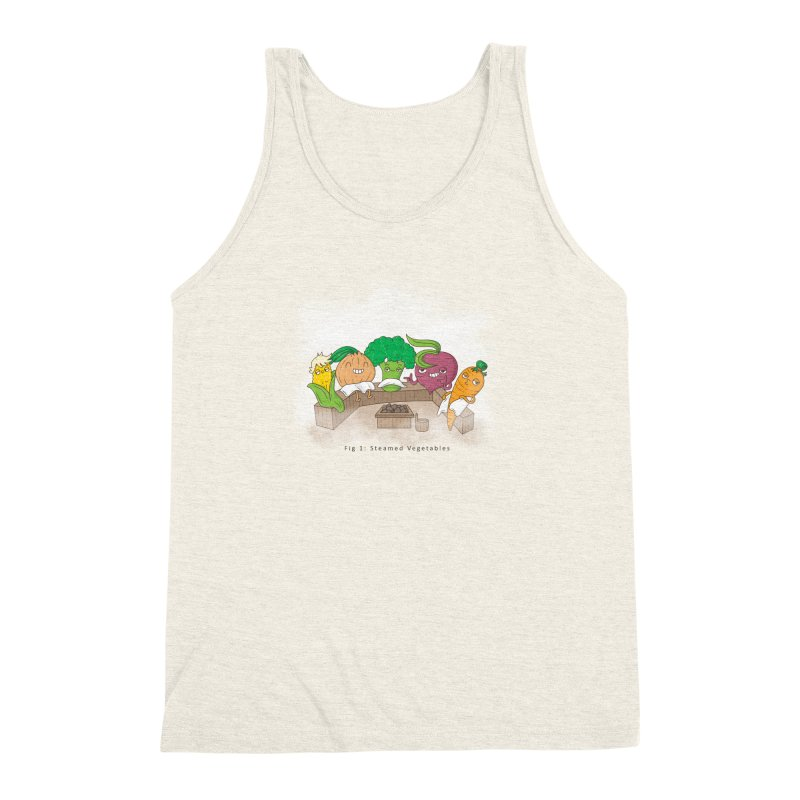 Steamy Men's Triblend Tank by Made With Awesome