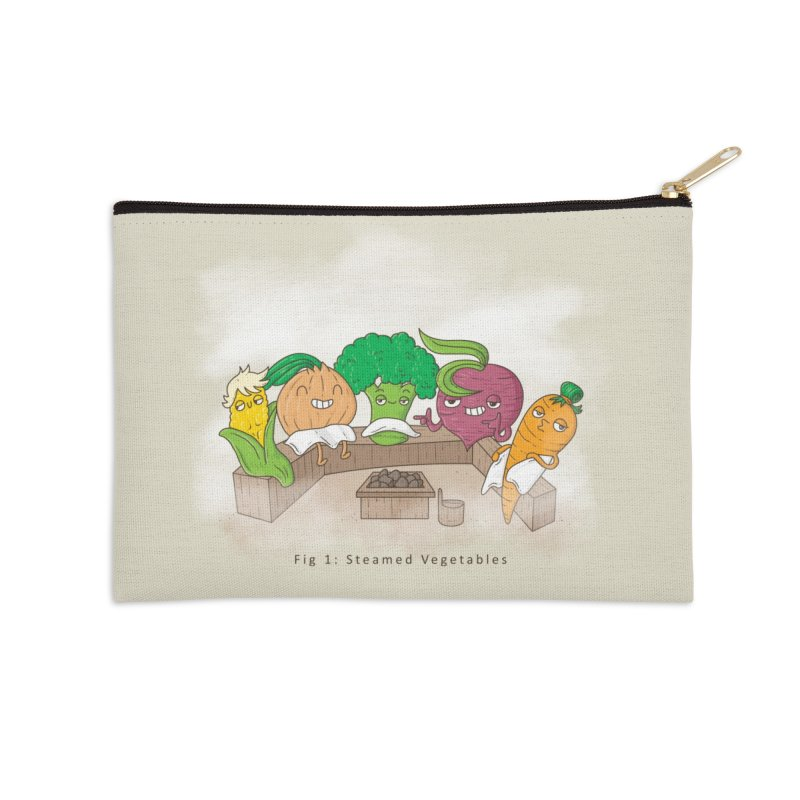 Steamy Accessories Zip Pouch by Made With Awesome
