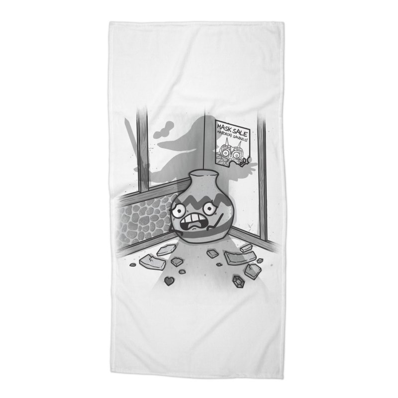 A Link To The Smash Accessories Beach Towel by Made With Awesome