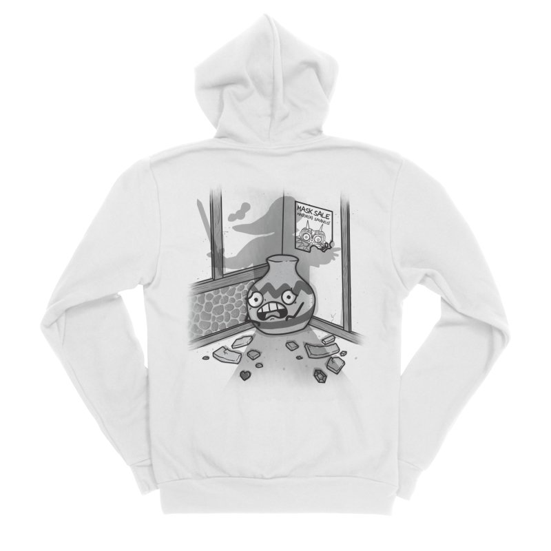 A Link To The Smash Men's Sponge Fleece Zip-Up Hoody by Made With Awesome