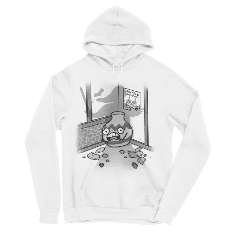 A Link To The Smash Men's Sponge Fleece Pullover Hoody by Made With Awesome