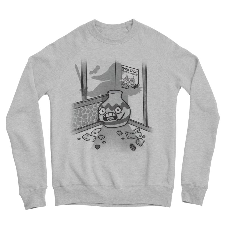A Link To The Smash Men's Sponge Fleece Sweatshirt by Made With Awesome