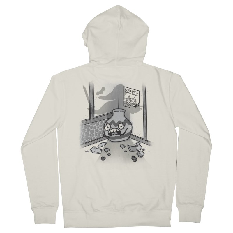 A Link To The Smash Women's Zip-Up Hoody by Made With Awesome